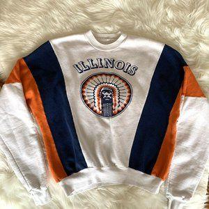 Sweaters - Vintage University of Illinois Chief Illiniwek